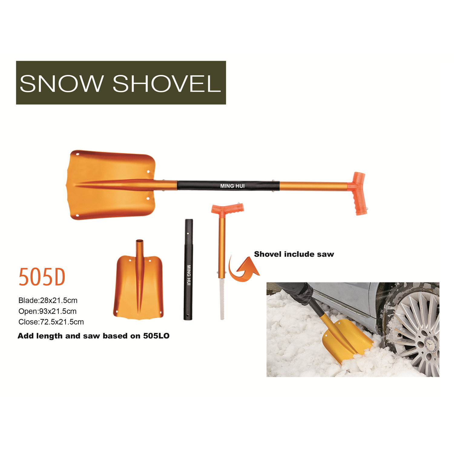 Snow shovel 505D