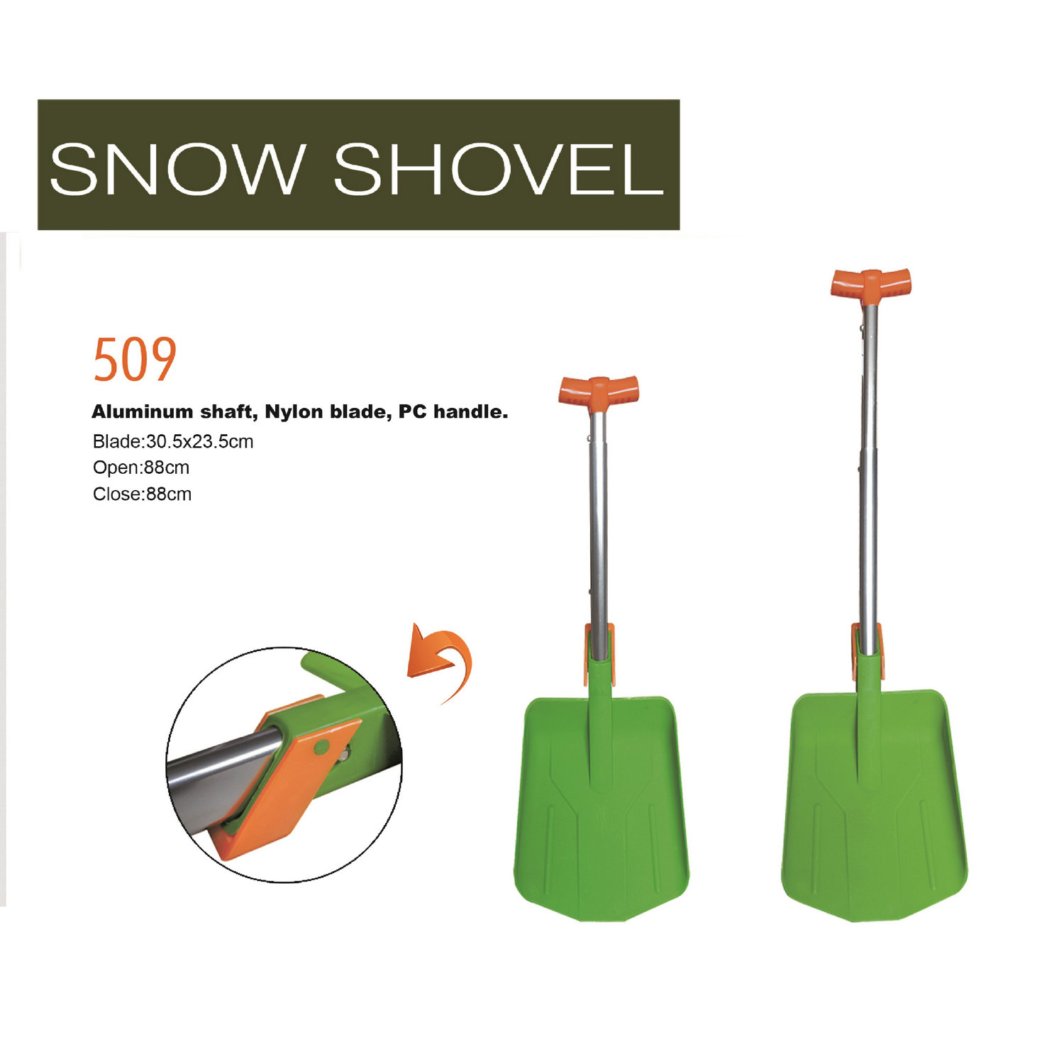 Snow shovel 509