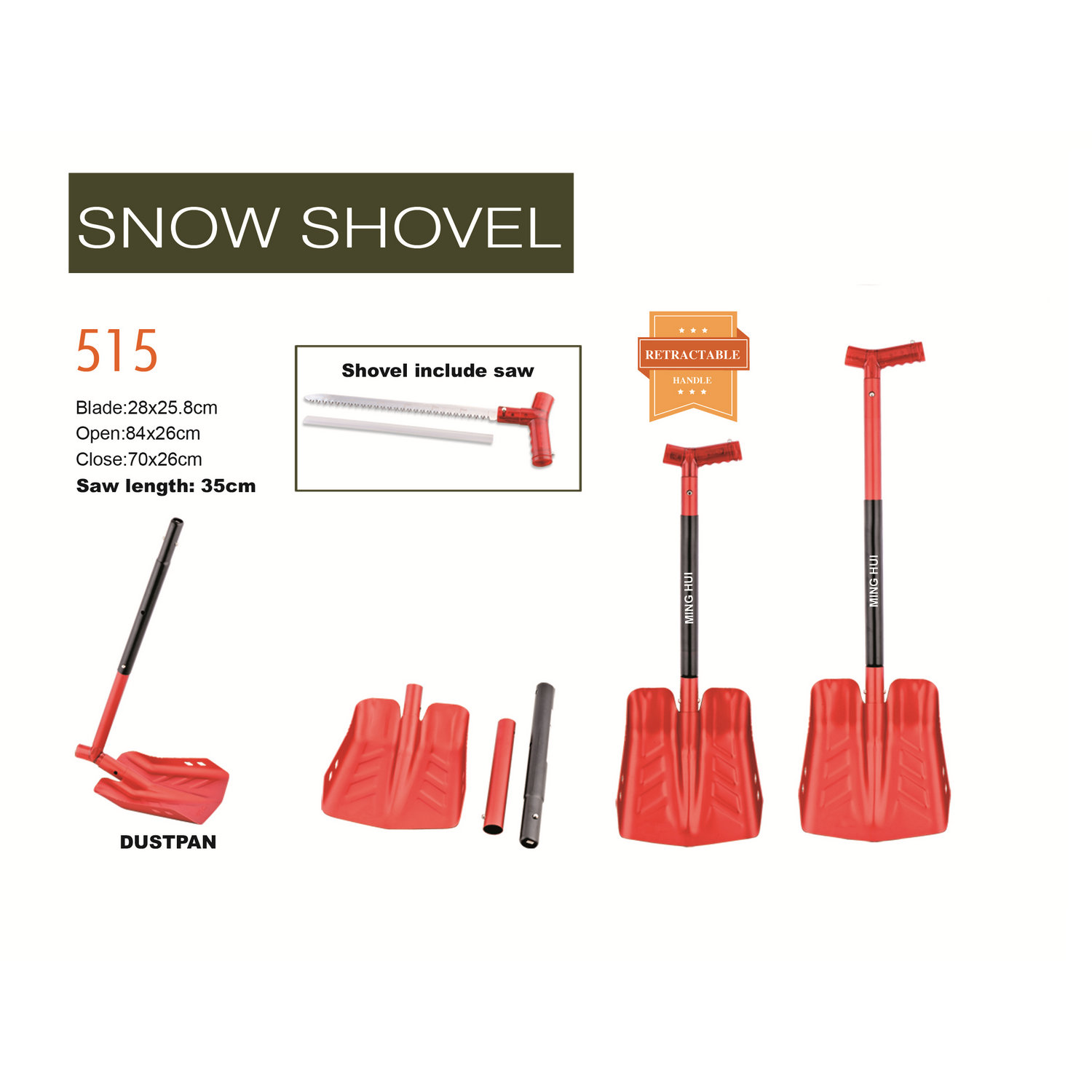 Snow shovel 515